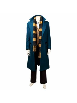 Full Set Fantastic Beasts Where to Find Them Newt Scamander Cosplay Costume