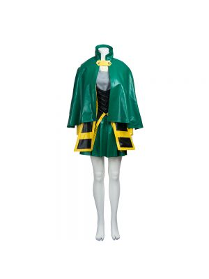 The Avengers Loki Cosplay Costume Customized Women's Dress