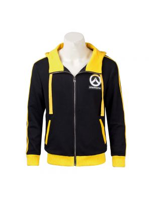 New Black Overwatch Soldier 76 Sweater Cosplay Costume