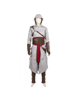 Assassin's Creed Altair Ibn-La'Ahad Cosplay Costume with Sharp Dresser