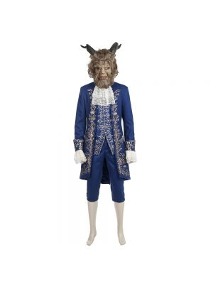 2017 New Beauty and the Beast The Beast Le Prince Adam Cosplay Costume
