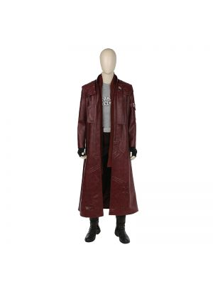 Guardians of the Galaxy 2 Star lord Peter Jason Quill Cosplay Costume