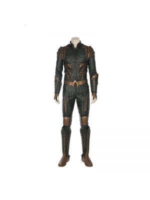 Full Set Justice League Aquaman Cosplay Costume With Boots