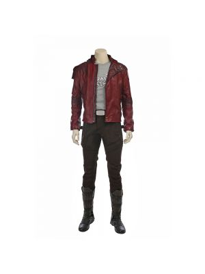 New Guardians of the Galaxy 2 Starlord Peter Cosplay Costume