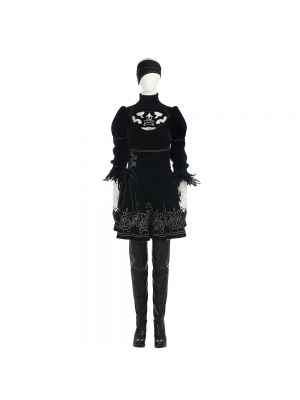 NieR: Automata 2B Uniforms Black Cosplay Costume Full Set
