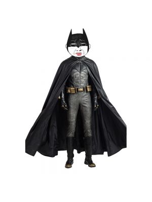 Justice League Batman Cosplay Costume with Boots