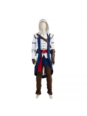 Assassin's Creed 3 III Connor Cosplay Costume Full Set