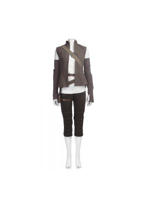 Star Wars 8 The Last Jedi Rey Cosplay Costume