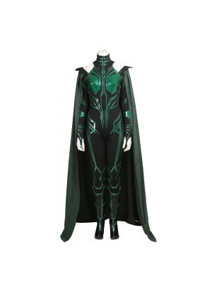 Thor Costume Hela Cosplay Costume Thor 3 Halloween Clothing with Boots