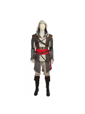 Assassin's Creed IV:Black Flag Cosplay Costume Halloween Clothing