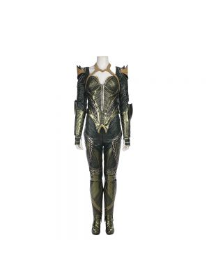 Justice League Cosplay Mera Cosplay Costume Halloween Clothing