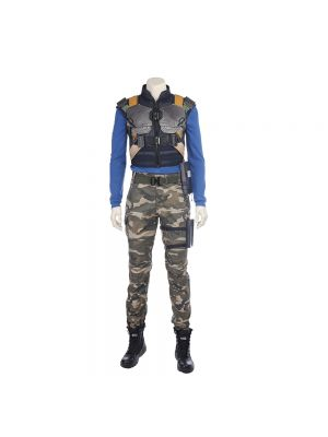 Black Panther Cosplay Erik Killmonger Cosplay Costume Halloween Clothing
