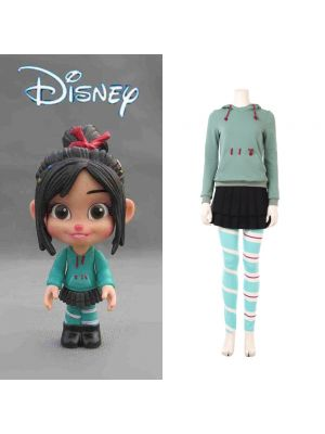 Ralph Breaks the Internet: Wreck-It Ralph 2 Vanellope Cosplay Costume