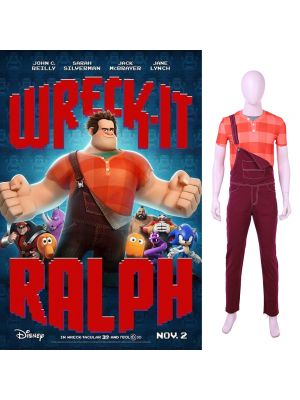 Ralph Breaks the Internet: Wreck-It Ralph 2 Ralph Cosplay Costume