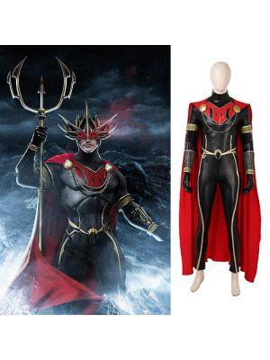 2018 Aquaman Orm Villain Ocean Master Cosplay Costume Patrick Wilson