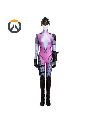 Overwatch Widowmaker Emily Cosplay Costume Customized