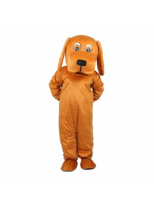 Giant Brown Dog Mascot Costume