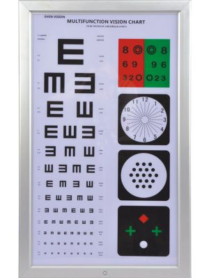 Optical Visual Chart Lamphouse Optometry Tester Multifunction CP-37A