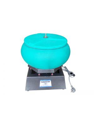 Vibrating Tumbler Jewelry Vibratory Polisher Polishing Machine 17 inch