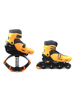 2 in1 Fitness Jumping Shoes & roller skates