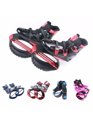 Jumping Shoes Jumps Boots Black-red for Adults US Free Shipping