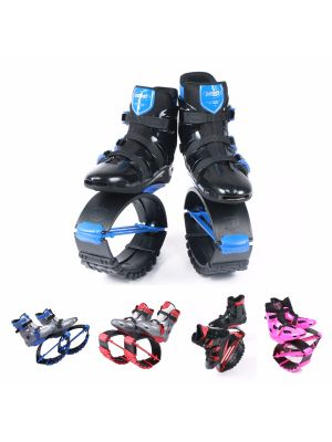 Jumping Shoes Bounce Boots Black-blue XL XXL