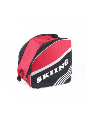 Boot Bag for Jumping Shoes and Ski Boots w/ Large Side Pocket