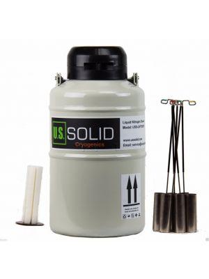 Semen Tank U.S. Solid Liquid Nitrogen Dewar Cryogenic Flask Empty