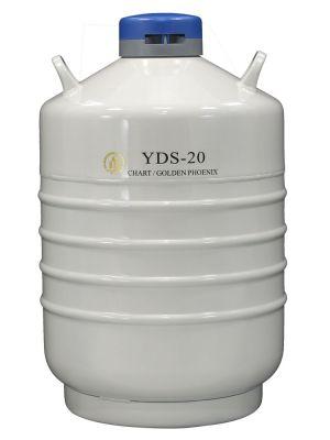 20 L Liquid Nitrogen Container Cryogenic LN2 Tank Dewar Empty YDS-20