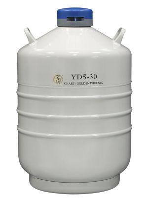 30 L Liquid Nitrogen Container Cryogenic LN2 Tank Dewar Empty YDS-30