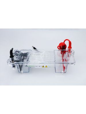 Mini Modular Horizontal Gel Electrophoresis Cell System 100 x 70 mm
