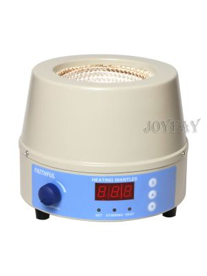 250W 500 ml Digital Magnetic Heating Stirring Mantle 98-III-B
