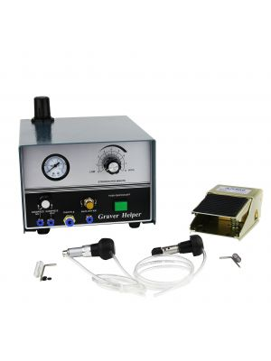 Pneumatic Engraving Machine Jewelry Engraver Double Ended