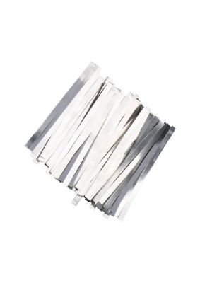 0.1x8x100 mm Nickel Plated Steel Strip For 18650 Battery 500pcs