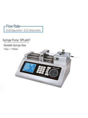 Lab Scientific Pump Syringe Pump 1 Channel Nonmedical 10μl--140ml