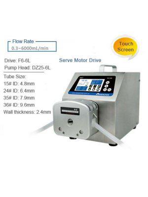 Peristaltic Pump Intelligent Dispensing 3 - 6000 ml/min