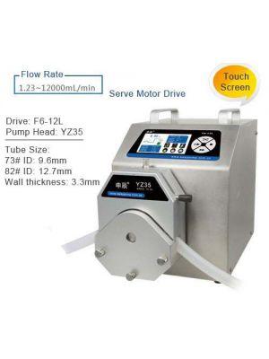 Peristaltic Pump Intelligent Dispensing 12.3- 12000 ml/min