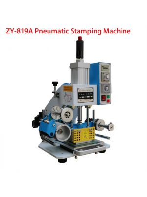 80*90mm Printable Area Pneumatic Hot Foil Stamping Machine ZY-819A