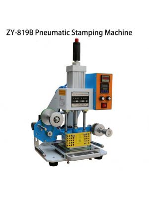 Pneumatic HotStamping Machine Hot Foil ZY-819B