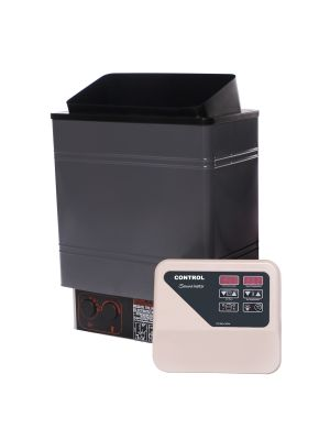 6KW Electric Wet&Dry Sauna Heater Stove with Outlet Digital Controller