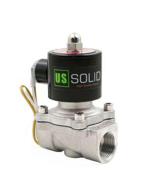 U. S. Solid® 3/4'' Stainless Steel Electric Solenoid Valve 110VAC