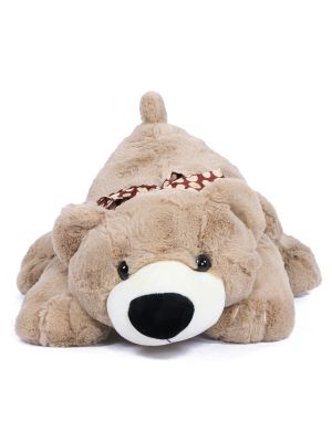 Joyfay® Teddy Bear Stuffed Animal, Lying Down Plush for Relaxation