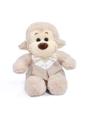 "Joyfay® Toy Monkey- 10"" Gray Stuffed Monkey is Playful and Curious"