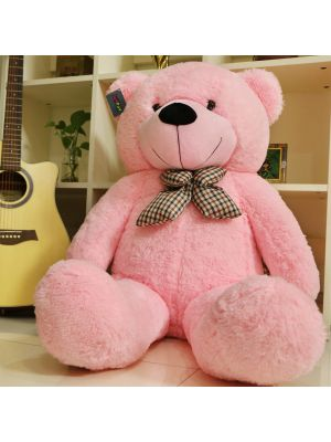 Joyfay® Giant Pink Teddy Bear- Very Soft to the Touch (4ft Bear)