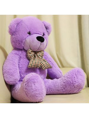 Joyfay® Purple Big Teddy Bear- Nearly 4ft (47