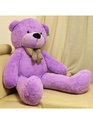 Joyfay® Giant Purple Teddy Bear- Huge 5 ft Stuffed Animal!