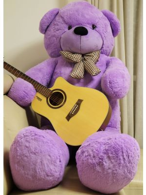 Joyfay® Purple Giant Teddy Bear-6.5 Ft Stuffed Toy, Thick Plush Coat