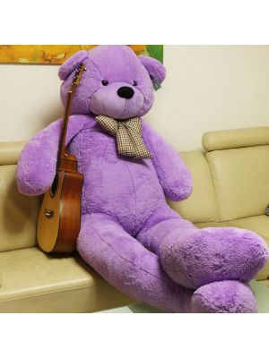 Joyfay® Purple Giant Teddy Bear- 7ft Life Size Bear for Lifelong Fun