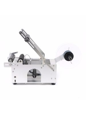 Semi-Automatic Round Bottle Labeling Machine Labeler 15-120mm
