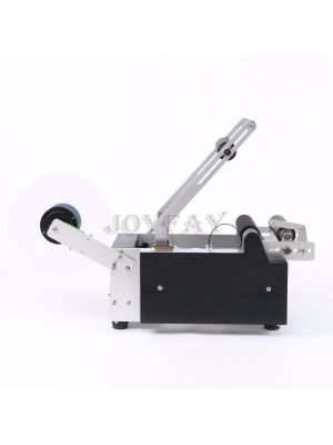 Semi-automatic Round Bottle Labeling Machine Bottle Labeler for Cosmetic Shampoo CE